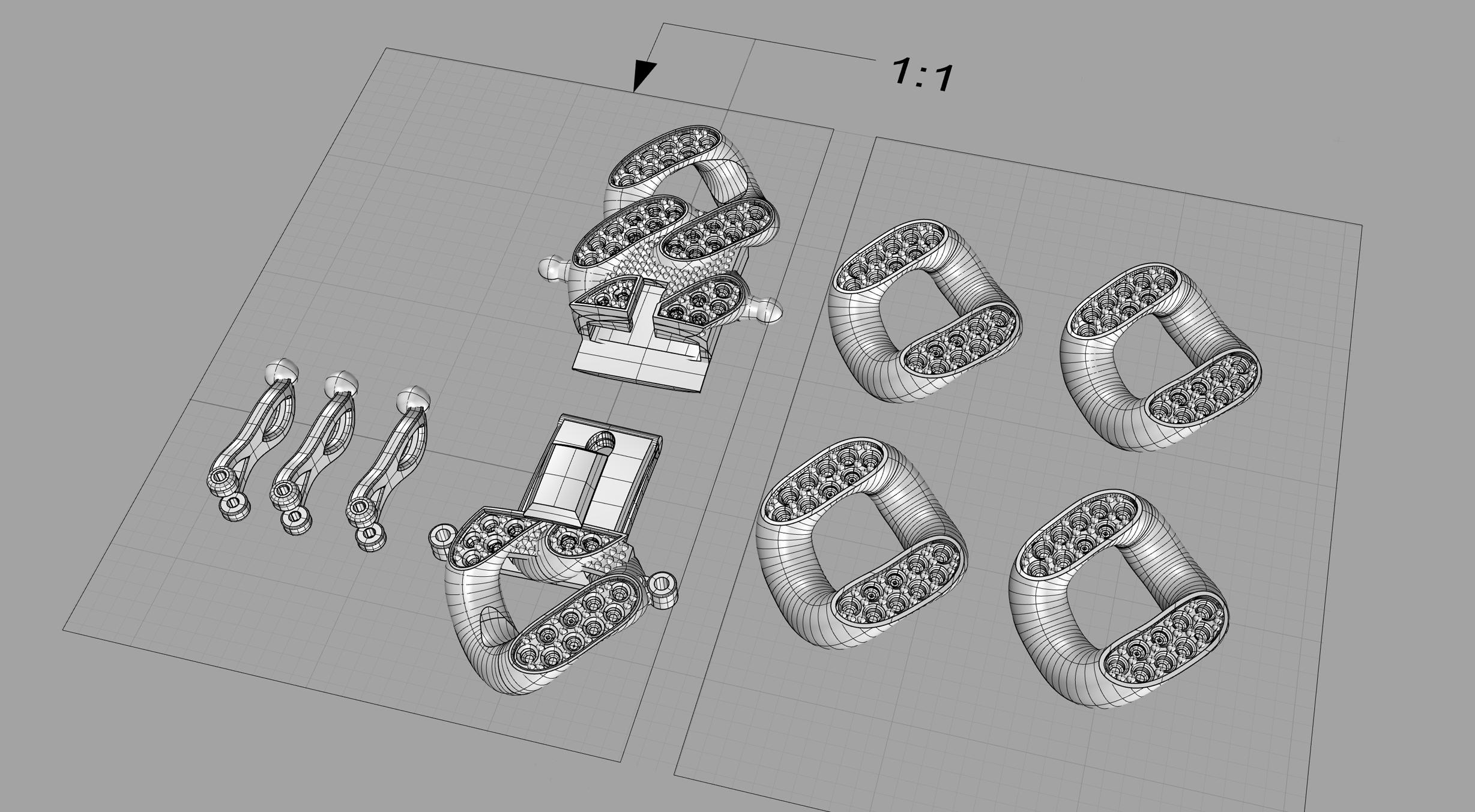 3D Rendering of Design
